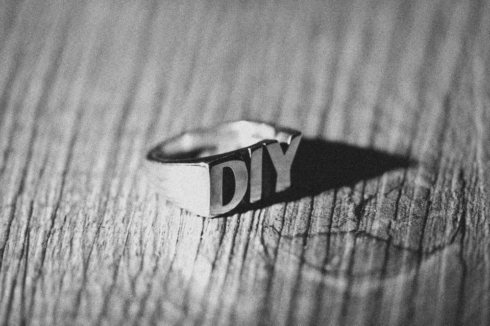 Image of FNG x Nove25 DIY Silver Ring