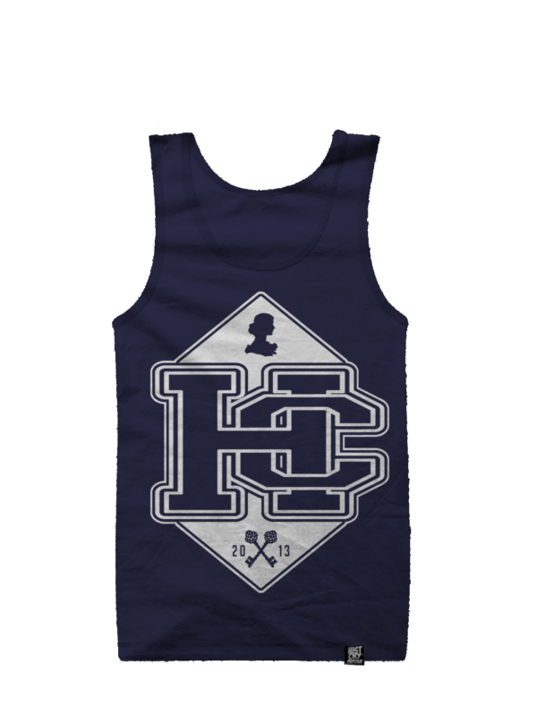 Image of Silhouette (Singlet) - Navy
