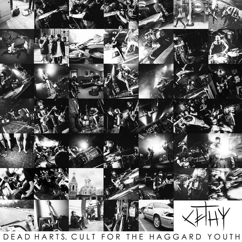 Image of Dead Harts - 'Cult For The Haggard Youth' CD