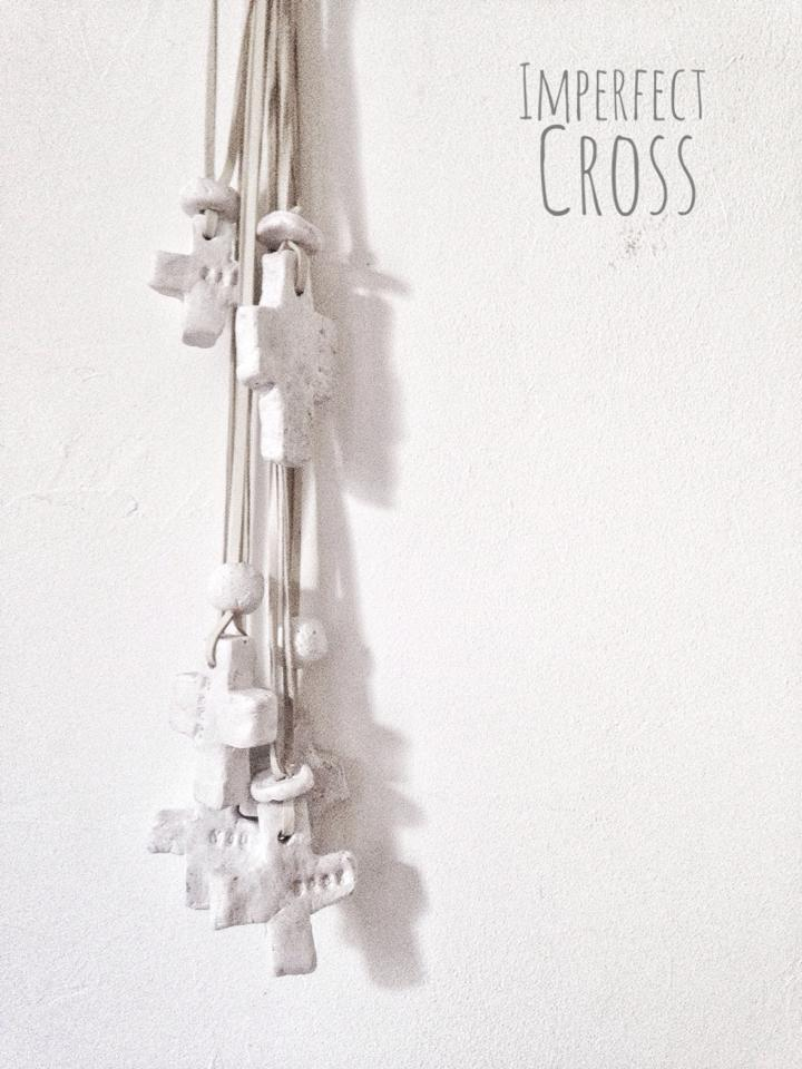 Image of IMPERFECT CROSS necklace