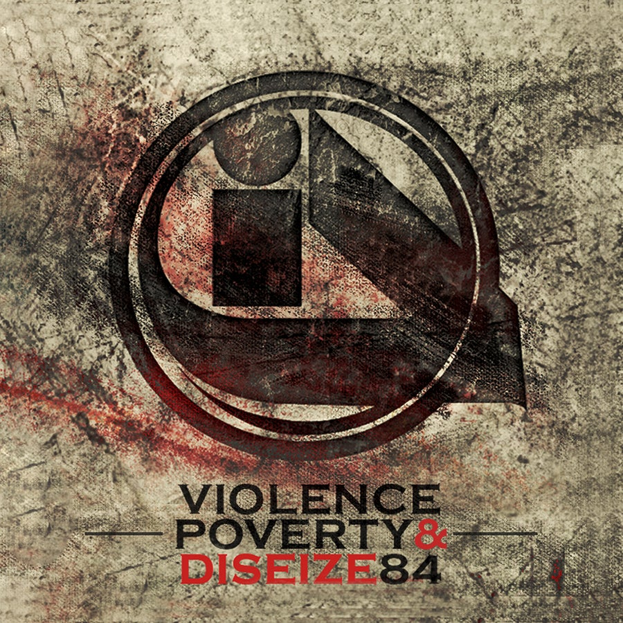"""Image of Illicit Dialect """"Violence, Poverty & Diseize84"""" CD"""