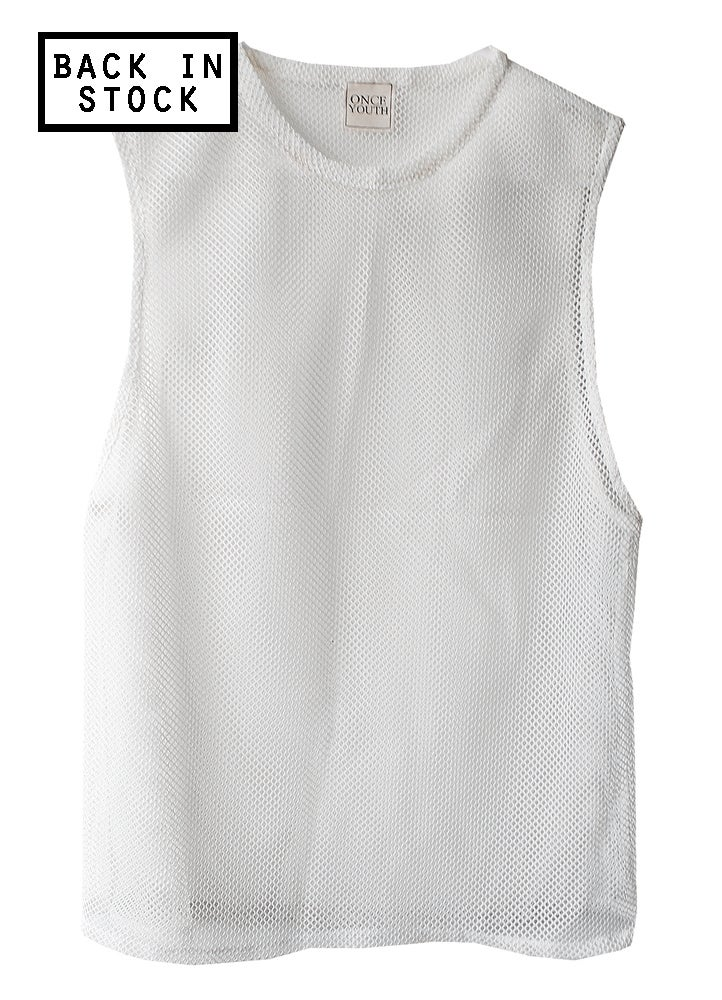 Image of Mesh Muscle Shirt