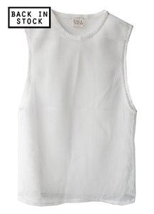 Image of Mesh Muscle Shirt