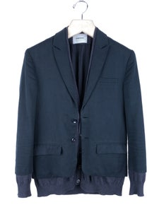 Image of Undercover - SS12 Open Strings Layered Blazer Jacket