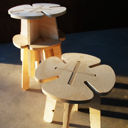 Image of Clover stool from