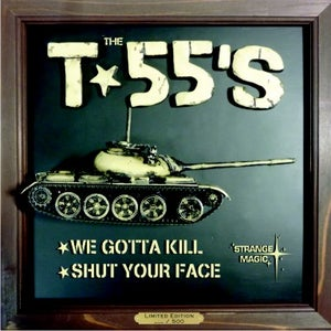 """Image of Mary's Kids/The T-55's Split 7"""""""