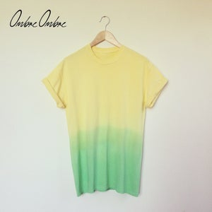 Image of Tropical Dip Dye Tee