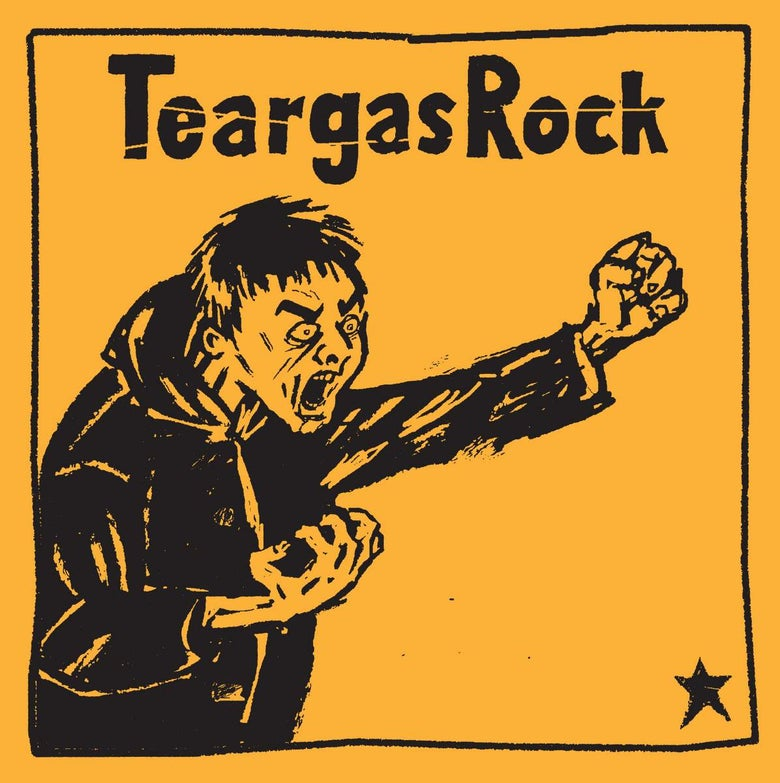 Image of Teargas Rock - S/T - LP