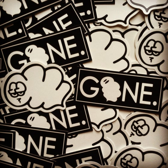 Image of Smokesmen Die Cut & GONE Slap Pack