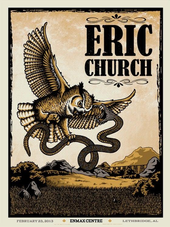 Image of ERIC CHURCH @ Lethbridge, AB - 2013