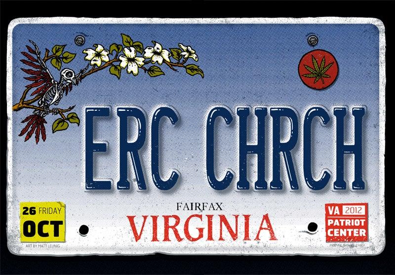 Image of ERIC CHURCH @ Patriot Center, VA - 2012