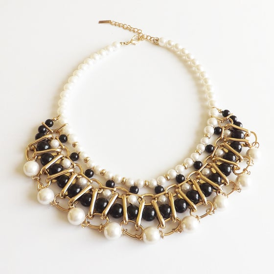 Image of Multi Layer Black and White Pearl
