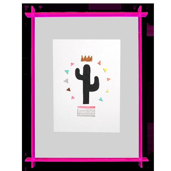 Image of Cactus King - Original Artwork