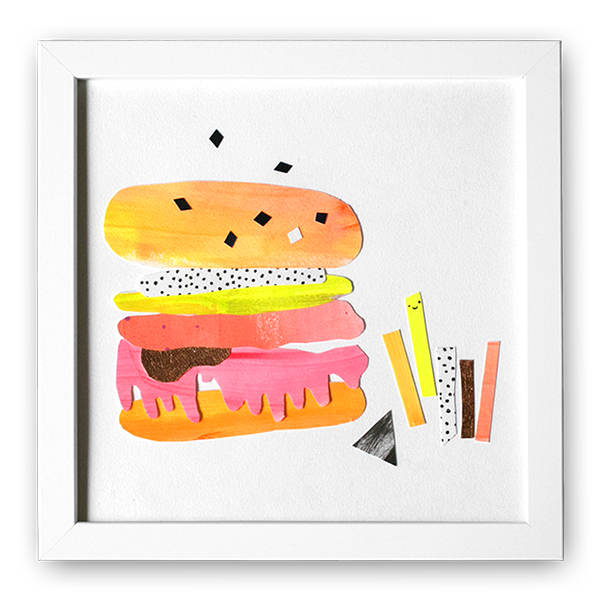 Image of Cheeeseburger - Original Artwork