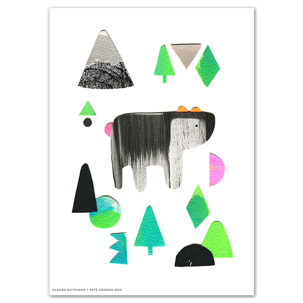 Image of Forest Bear - Limited Edition Print