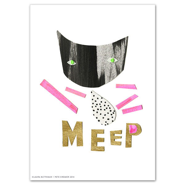 Image of Meep - Limited Edition Print