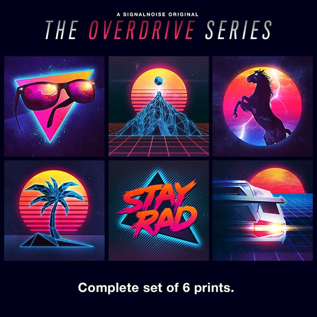 Image of Overdrive Series set