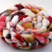 Image of Brass Petals - Superwash Merino/Cashmere/Silk Wool Top/Roving