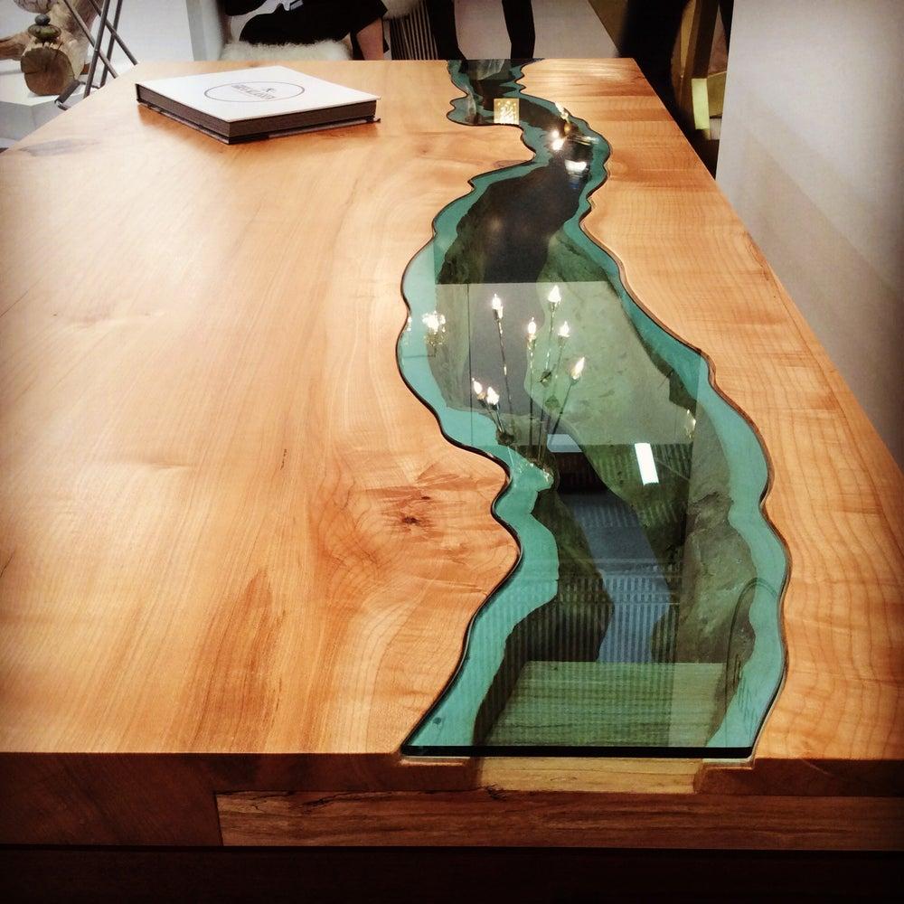 Image of river desk