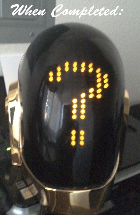 Image of Guy Manuel Basic LED Matrix - Diy kit