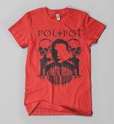 Image of pol pot shirt (red)