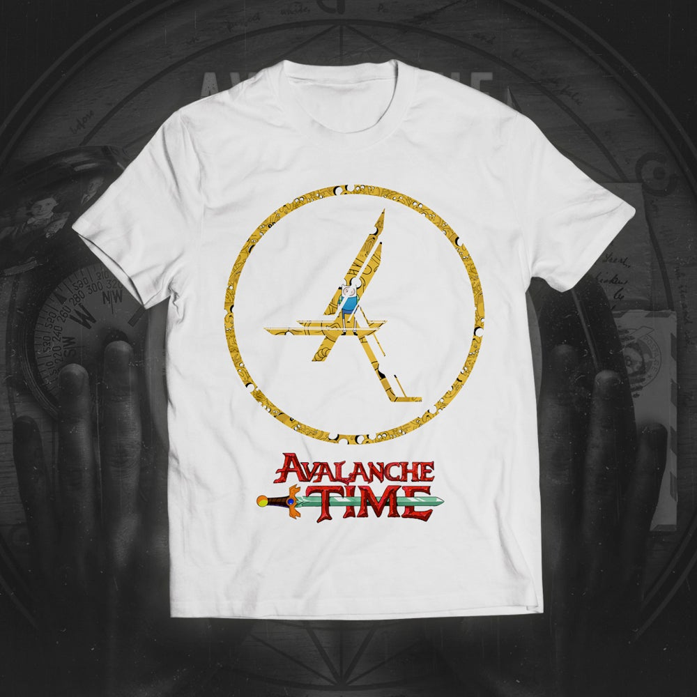 Image of Avalanche Time (White Tee) *Exclusive