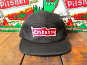 Image of Old Style Embassy 5 Panel Hat - Black