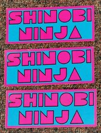 Image of Shinobi Ninja Vinyl Stickers
