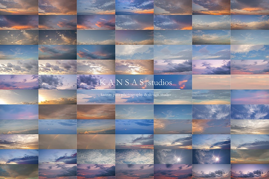 Image of Summer Sky Candy Sky Overlays