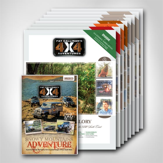 """Image of """"PAT CALLINAN'S 4X4 ADVENTURES"""" MAGAZINE- TWO YEAR SUBSCRIPTION"""