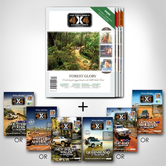 """Image of """"PAT CALLINAN'S 4X4 ADVENTURES"""" DVD COLLECTION SUBSCRIPTION OFFER"""