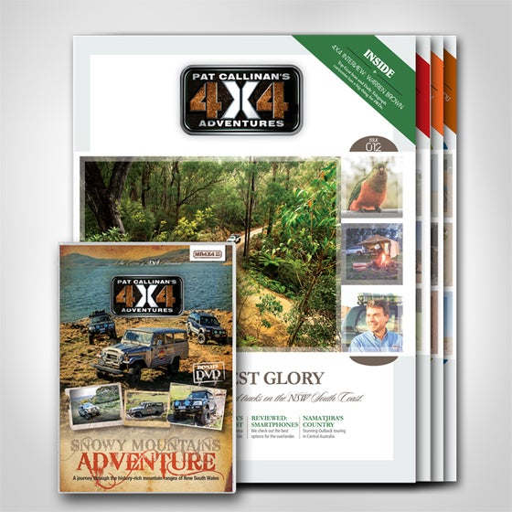 """Image of """"PAT CALLINAN'S 4X4 ADVENTURES"""" MAGAZINE-  ONE YEAR SUBSCRIPTION"""