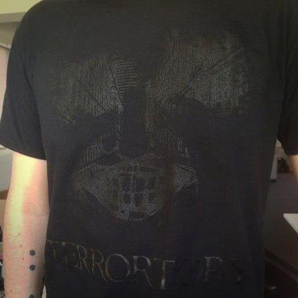 "Image of T-shirt ""City of Ghosts"" black"