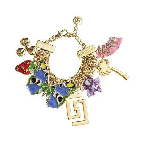 Image of SOLD OUT SALE Versace H&M Cruise Collection 2012 Charm Bracelet New with box