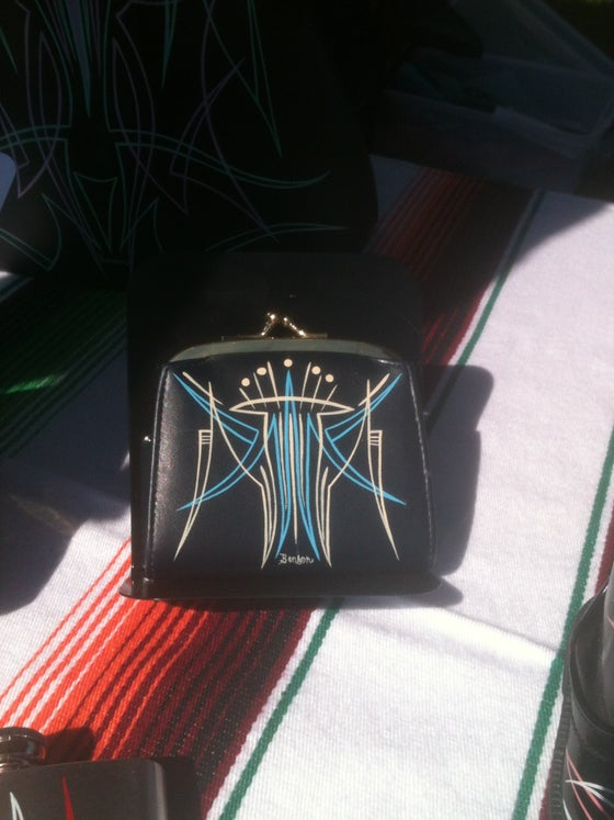 Image of Navy Change Purse