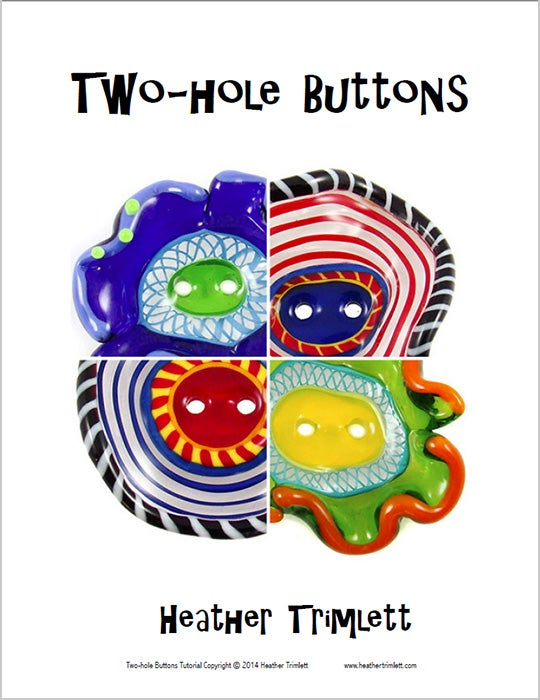 Image of TUTORIAL: TWO-HOLE BUTTONS (download)