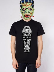 """Image of """"We Are All Dying"""" Shirt & Patch pack (Pre-Order) *LARGE*"""