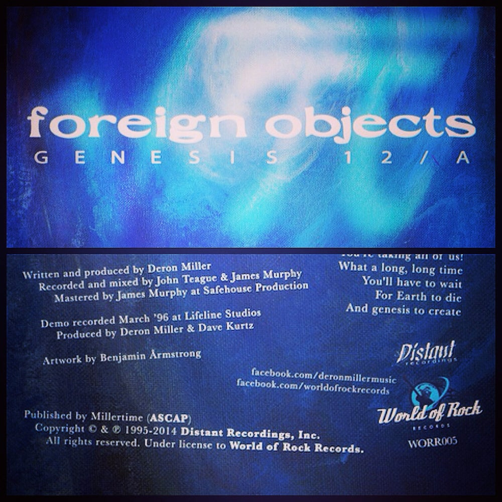 "Image of Foreign Objects ""Genesis 12/A"" Limited Edition 7"" Vinyl (two colors!)"