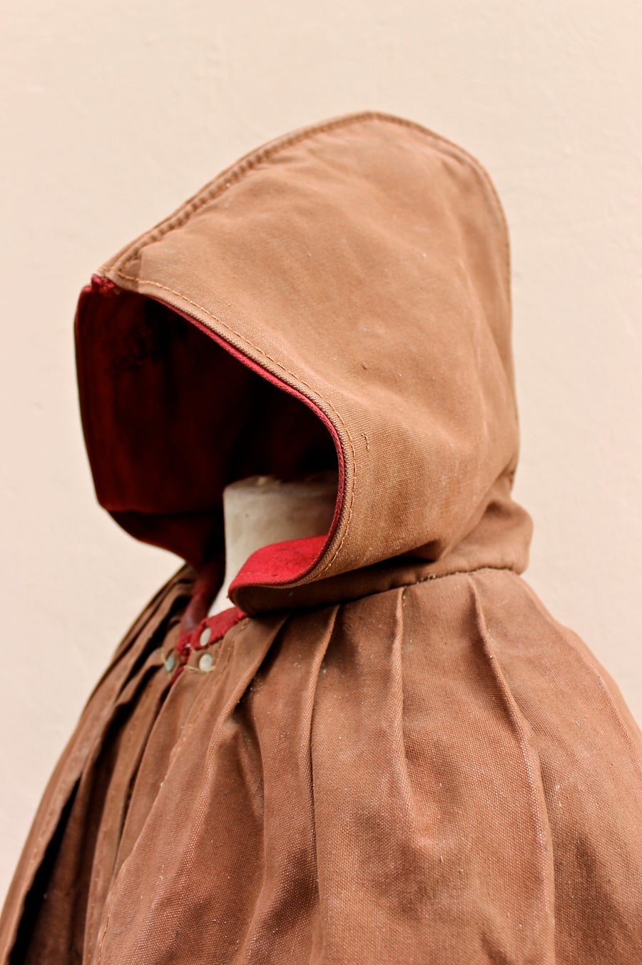 Image of 1930's FRENCH HERDSMAN CAPE CLOAK COAT