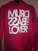 Image of Lady's pink hoody jumper