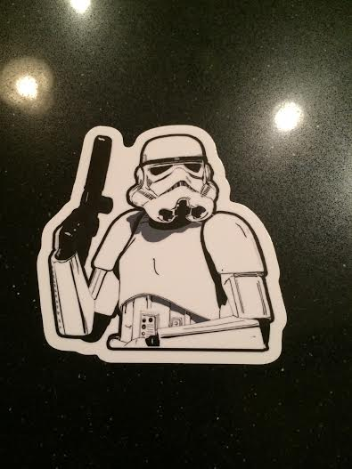 Image of TK Vinyl Sticker