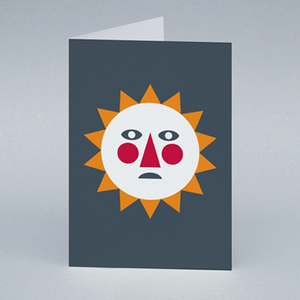 Image of Autumn Sun card