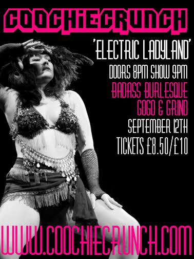 Image of CoochieCrunch Burlesque Show - September 12 - Electric Ladyland