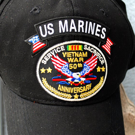 Image of Vietnam War 50th Anniversary Hat