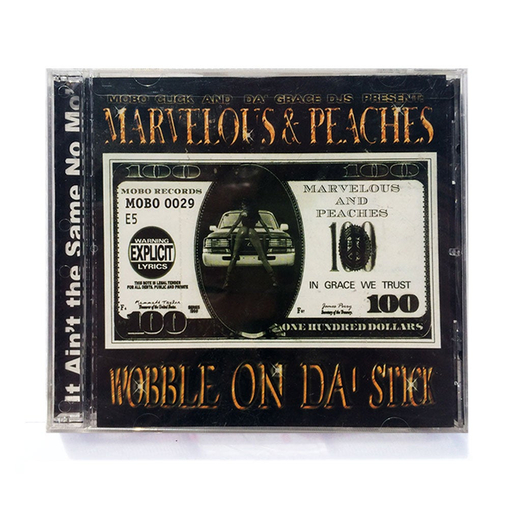Image of MOBO-29 - MARVELOUS & PEACHES / WOBBLE ON DA STICK [CD]