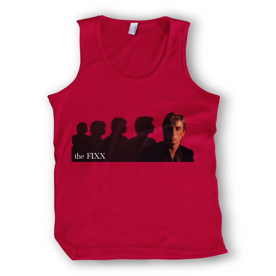 "Image of The Fixx ""Red Skies"" Tank - NEW TOUR ITEM!!!"