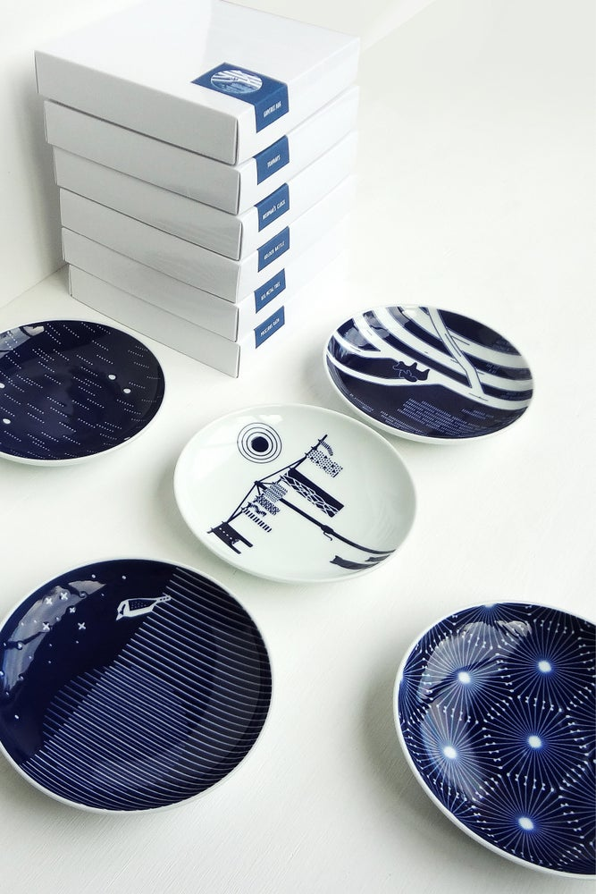 Image of Australian Collection - Porcelain plate set ::: SOLD OUT :::