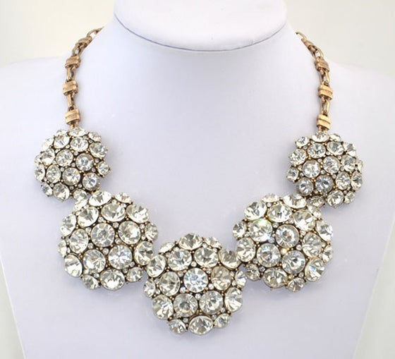 Image of Crystal Magnificent Necklace