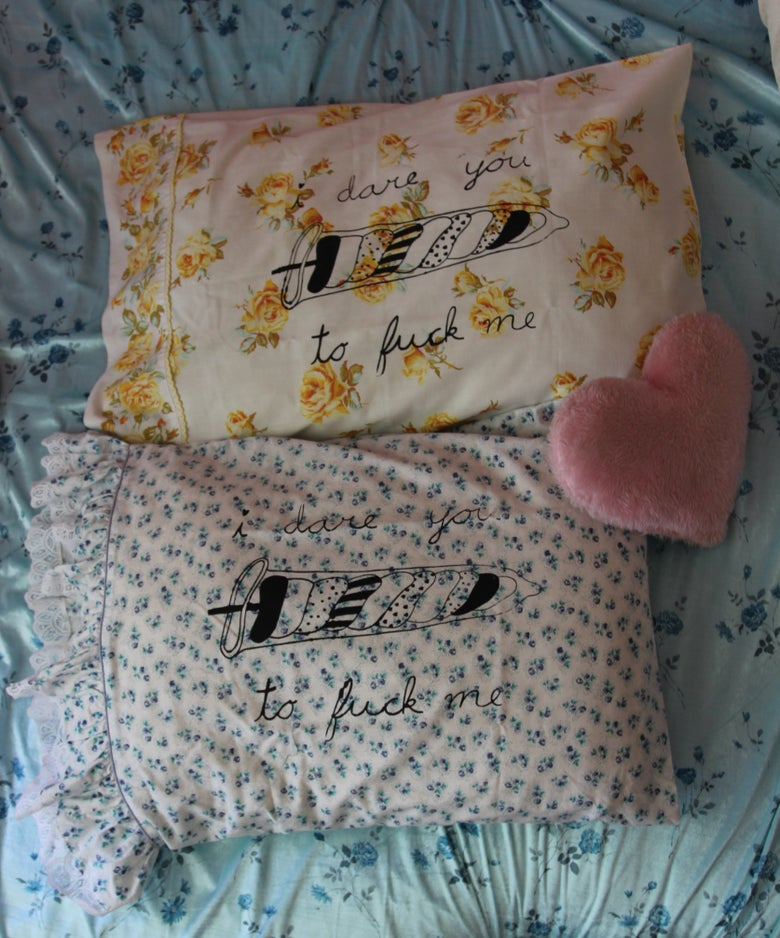 Image of Floral Dare Pillowcase