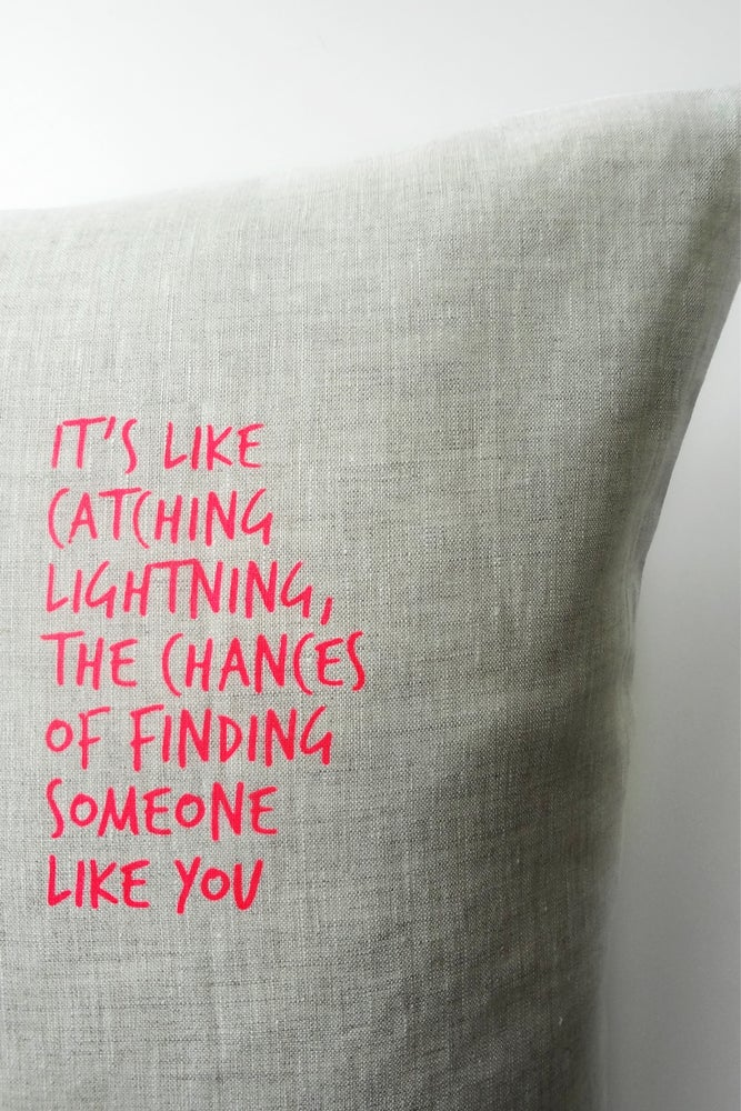 Image of Lightning - Cushion WAS $49